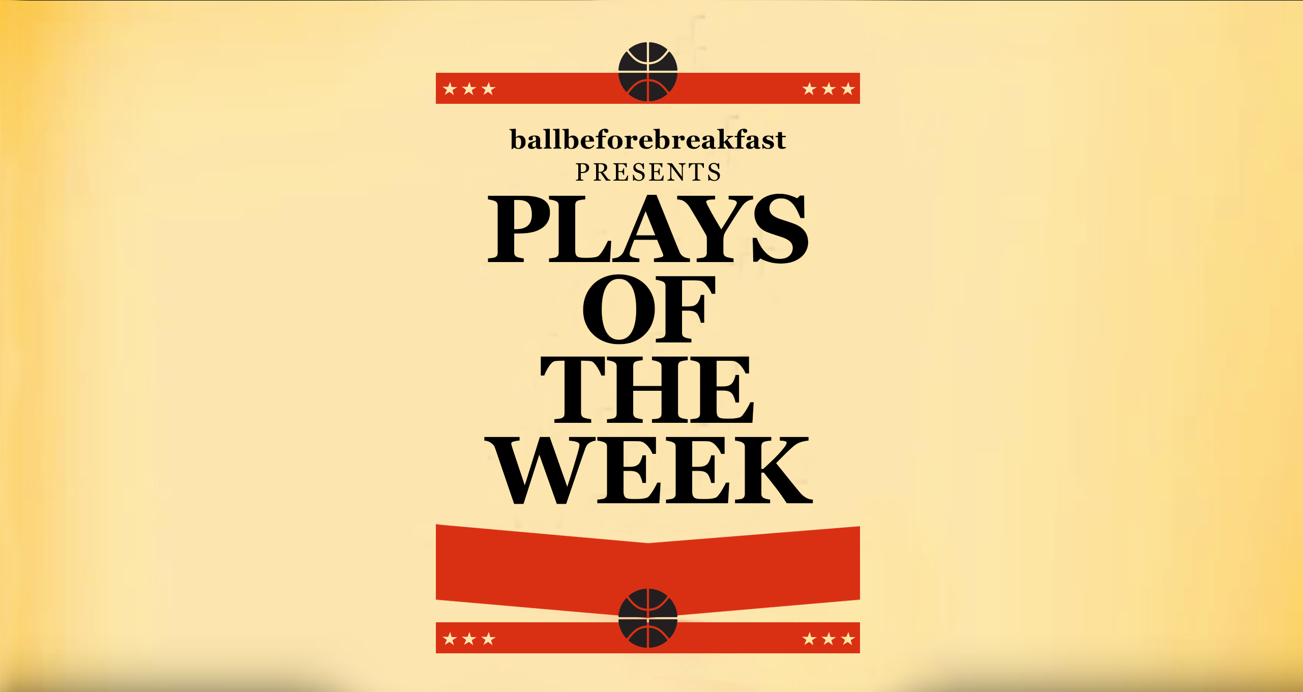 Plays of the Week 1.14